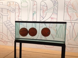 "Jeff Koons ""Three Ball Equilibrium Tank"""