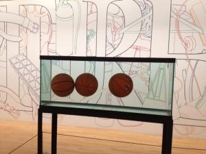 "Jeff Koons ""Three Ball Equilibrium Tank"""