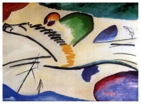 Kandinsky - Horse and Rider